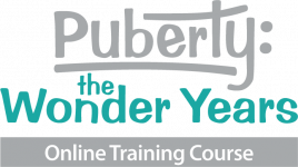 Logo of Online Training Course - Puberty: the Wonder Years